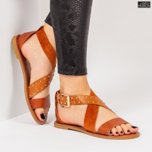 Sandale ''Mei Fashion FS11 Camel'' [D3C9]