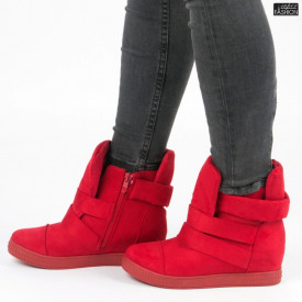 Sneakers ''ABC 1703 Red'' [D10B13]