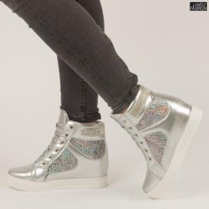 Sneakers ''Rodman AN3937 Silver'' [D4F2]