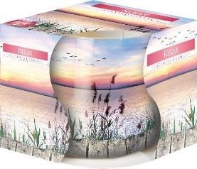 Poze Lumanare parfumata in pahar imprimat Relax - SN71S-32