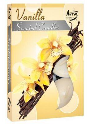 Poze Lumânare pastilă parfumată 6 buc/set aromă vanilie