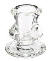 Poze Suport din sticlă pentru lumânări conice si cilindrice