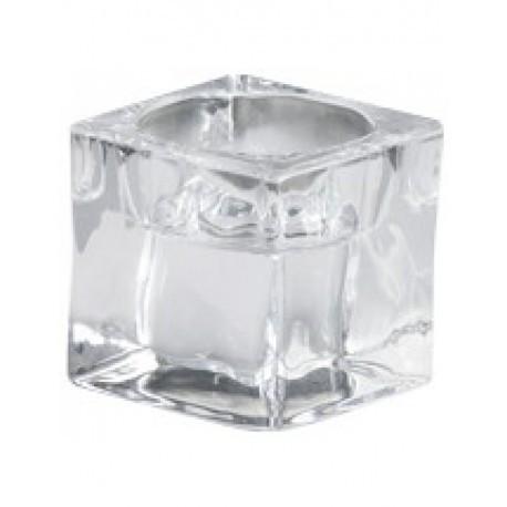 Poze Suport lumanare sticla pentru lumanare pastila SLT 40/55