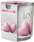 Poze Lumanare parfunata in pahar imprimat LOVE SN72 S-39