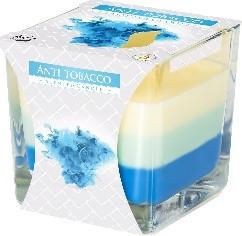 Poze Lumanare parfumata in pahar in trei culori anti-tabac