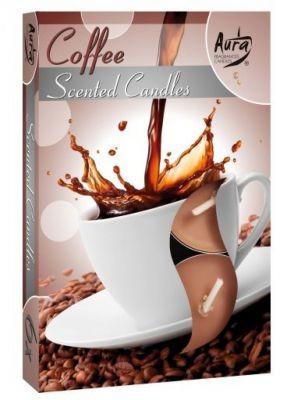 Poze Lumânare pastilă parfumată 6 buc/set aromă cafea