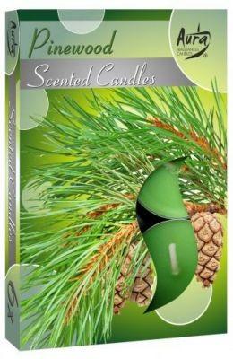 Poze Lumânare pastilă parfumată 6 buc/set aromă pin