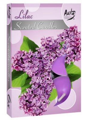 Poze Lumânări pastilă parfumată 6 buc/set aromă liliac