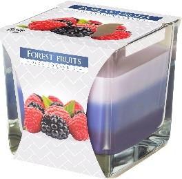 Poze Lumanare parfumata in pahar in trei culori fructe de padure