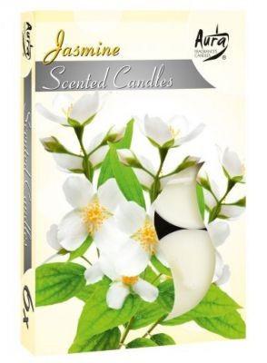 Poze Lumânare pastilă parfumată 6 buc/set aromă iasomie