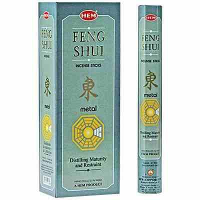 Poze Beţişoare parfumate HEM - FENG SHUI METAL