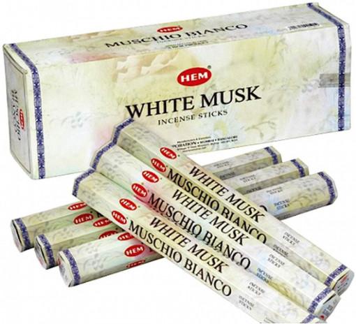 Poze Beţişoare parfumate HEM - WHITE MUSK