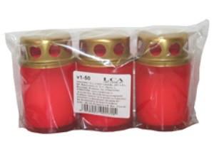 Poze Candelă plastic cu capac V1-50A3