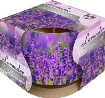 Poze Lumânare parfumată în pahar de sticlă imprimat