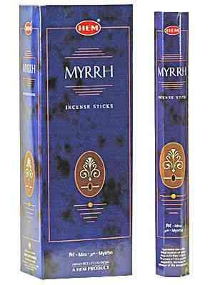 Poze Beţişoare parfumate HEM - MYRRH