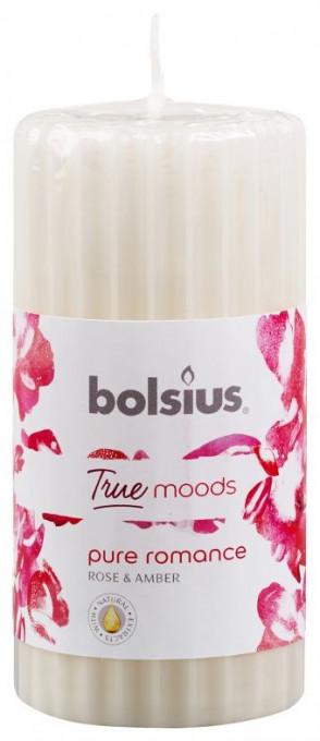 Poze Lumanare stalp parfumata 120x58mm true moods pure romantic