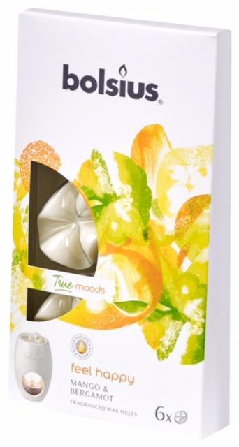 Poze Cipsuri din parafina parfumata - Feel Happy (Mango si Bergamot)