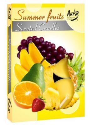 Poze Lumânare pastilă parfumată 6 buc/set aromă fructe de vară