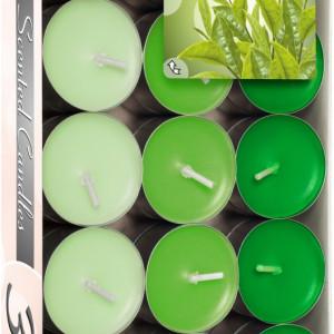 Lumânări pastilă parfumate - ceai verde