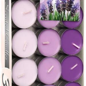 Lumânări pastilă parfumate - lavandă p30-xx