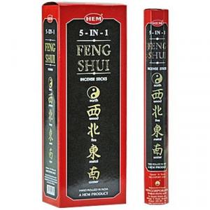 Beţişoare parfumate HEM-feng shui 5 în 1