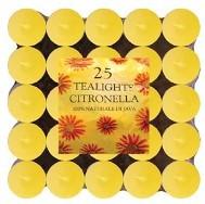 Lumânări pastilă citronella 25 bucăţi