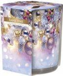 Lumanare parfumata in pahar imprimat SN72S-Christmas time