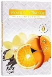 Lumanare pastila parfumata vanilie si portocala