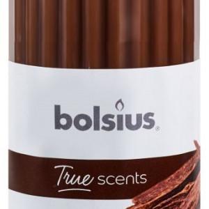 Lumanare stalp parfumata 120x58 mm true scents lemn de oud
