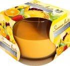 Lumânare parfumată în pahar de sticlă-fructe de vara