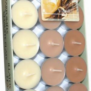 Lumânări pastilă parfumate - vanilie p30-xx