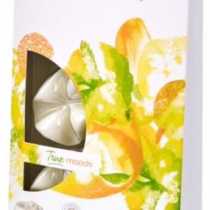 Cipsuri din parafina parfumata - Feel Happy (Mango si Bergamot)