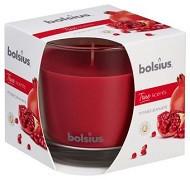 Lumânare parfumată Bolsius în pahar mare – True Scents - Rodie