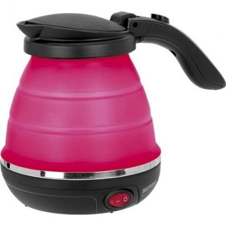 Fierbator Turist, pliabil, rosu, negru, albastru , putere 750W, 0,5 litri, MPM MCZ-73