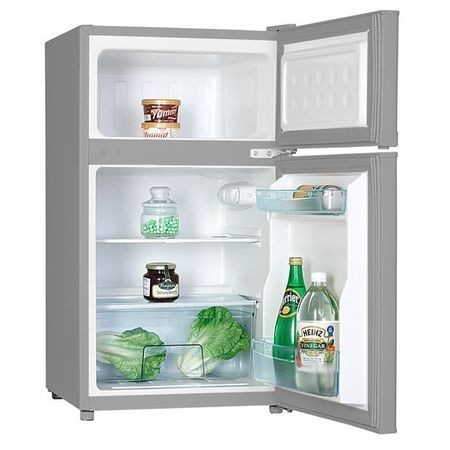Frigider inox cu congelator superior ,capacitate 87 litri,MPM-110-CZ-31S usa dreapta / stanga, dezghetare automata