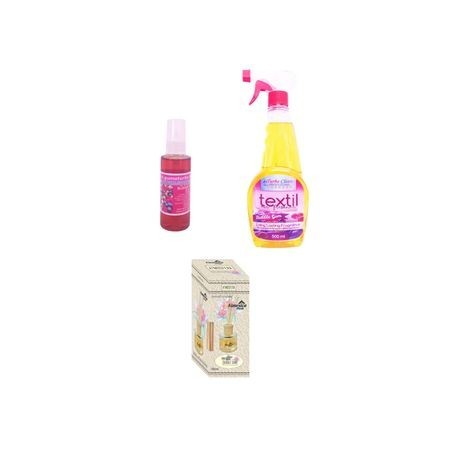 Pachet Promo 3 produse parfum Buble Gum: odorizant 50 ml pe baza de ulei, odorizant 500 ml pe baza de alcool, aroma guma turbo, odorizant 100 ml betisoare bubble gum-Turbo Clean Profesional