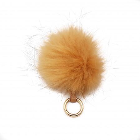 Accesoriu geanta blana naturala raton, maro