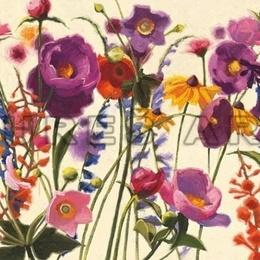 Tablou floral ''Flori de camp'' inramat