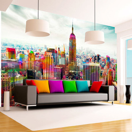 Fototapet - Colors of New York City