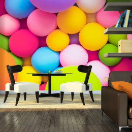 Fototapet - Colourful Balls