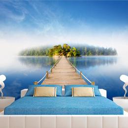 Fototapet - Mysterious island