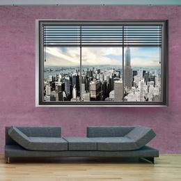 Fototapet - New York window II
