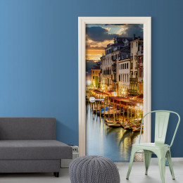 Fototapet pentru ușă - Venetian Harbour