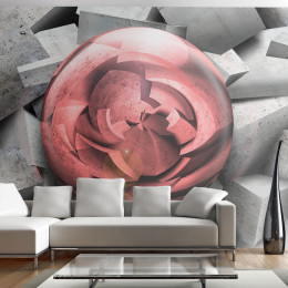 Fototapet - Stone rose
