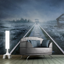 Fototapet - The ghost train