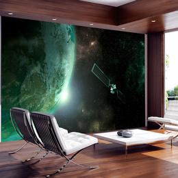 Fototapet univers Planeta verde