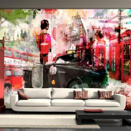 Fototapet vlies Imagini din Londra