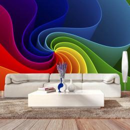 Fototapet vlies Rotatie in culori