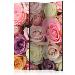 Paravan - Pastel roses [Room Dividers]