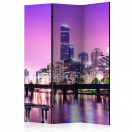 Paravan - Purple Melbourne [Room Dividers]